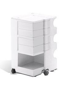 Charmant Joe Colombo Boby Mobile Office Organizer B34   3 Sections + 4 Drawers ...