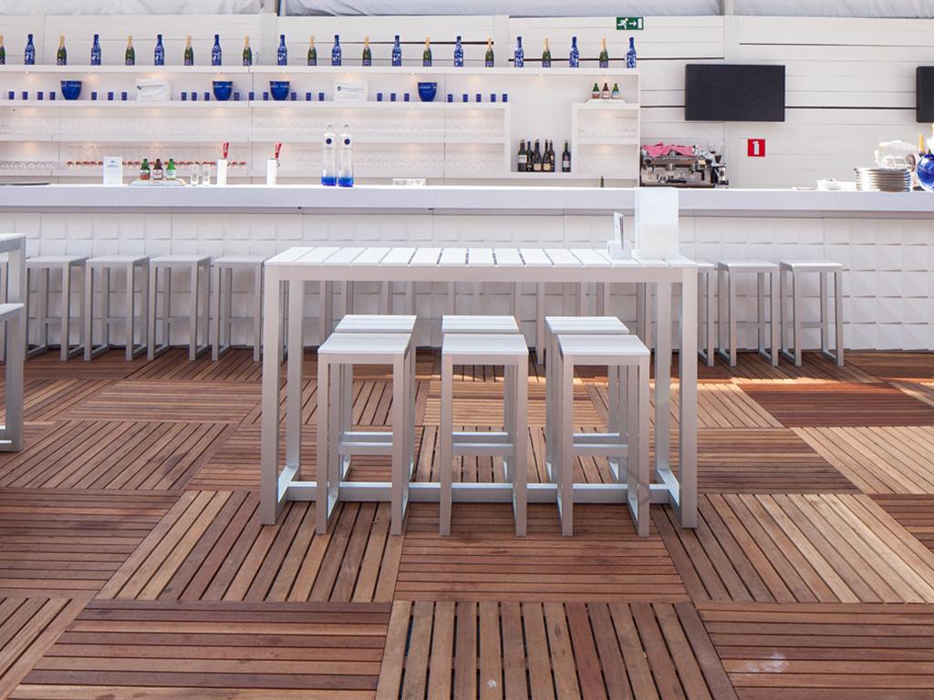 Gandia Blasco Saler Mesa Modern Outdoor Bar Table