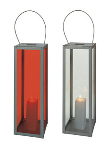 Gandia Blasco Farol Vertical Modern Outdoor Lantern Lamp