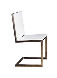 Gandia Blasco Silla Luna Modern Outdoor Dining Chair | Stardust