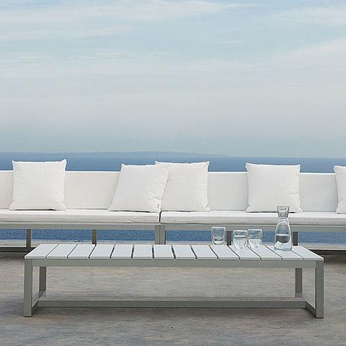 gandia blasco mesa baja saler modern outdoor coffee table | stardust