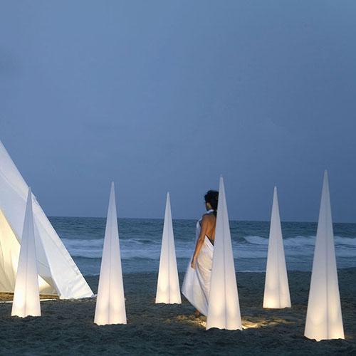 Gandia blasco lampara piramide modern outdoor lamp stardust