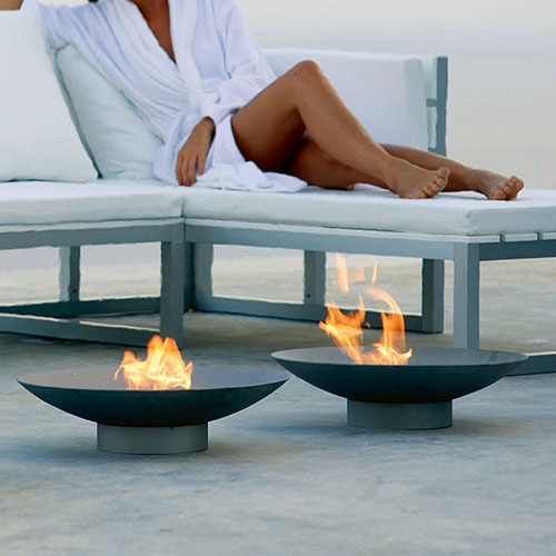 modern patio fire pit. Gandia Blasco Brasero Modern Outdoor Fire Pit Patio