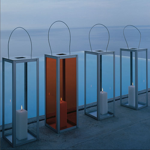 Gandia Blasco Farol Vertical Modern Outdoor Lantern Lamp