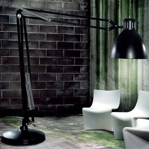 Oversized Floor Lamp itre the great jj xl floor lamp | stardust