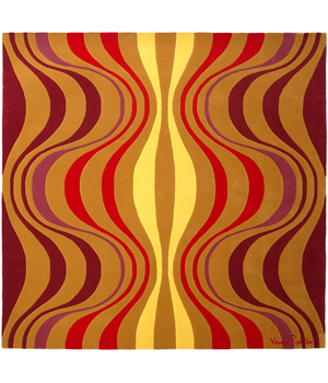 Verner Panton Onion Iii Carpet In