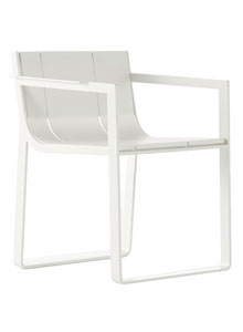 gandia blasco silla flat modern outdoor dining chair
