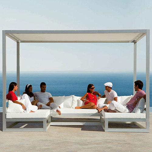 Etonnant Gandia Blasco Pergola Sofa Modern Outdoor Gazebo/Cabana