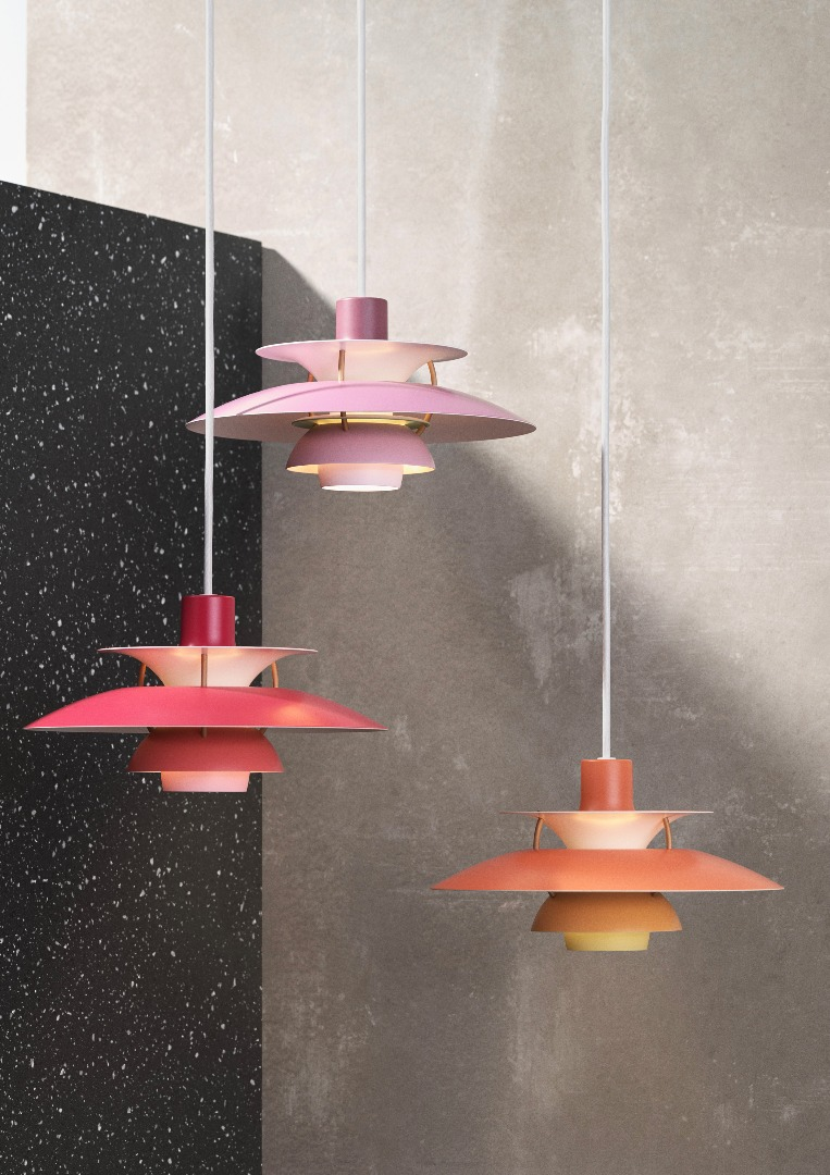 Ph 5 mini pendant light stardust louis poulsen ph5 mini small modern pendant light by poul henningsen aloadofball Choice Image