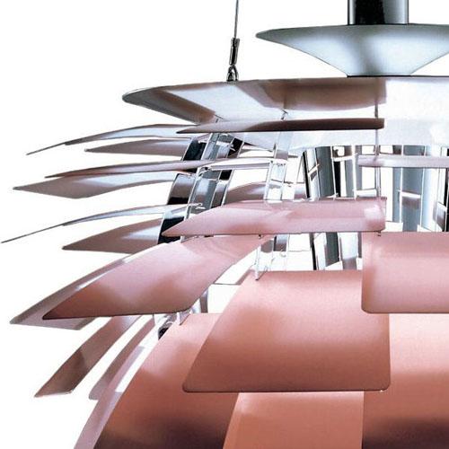 Artichoke lamp copper stardust louis poulsen ph artichoke pendant mozeypictures Images