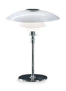 louis poulsen 4 12 3 12 glass table lamp