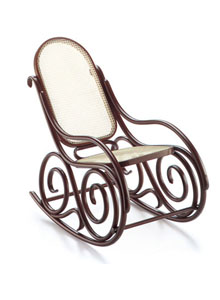 9 Bentwood Rocking Chair By Thonet ...