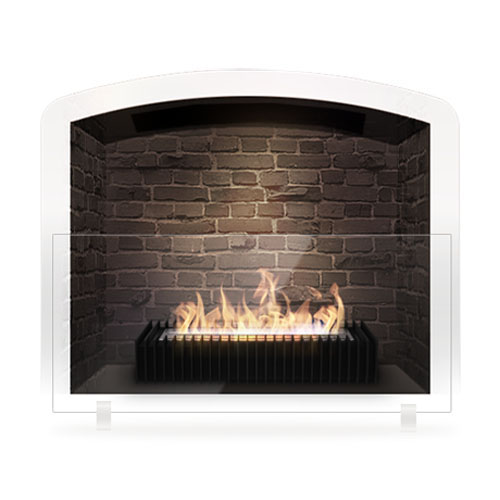 Ecosmart Fire Scope 500 Grate Modern Ventless Designer Fireplace Grate - Ecosmart Fire Scope 500 Grate Modern Ventless Designer Fireplace