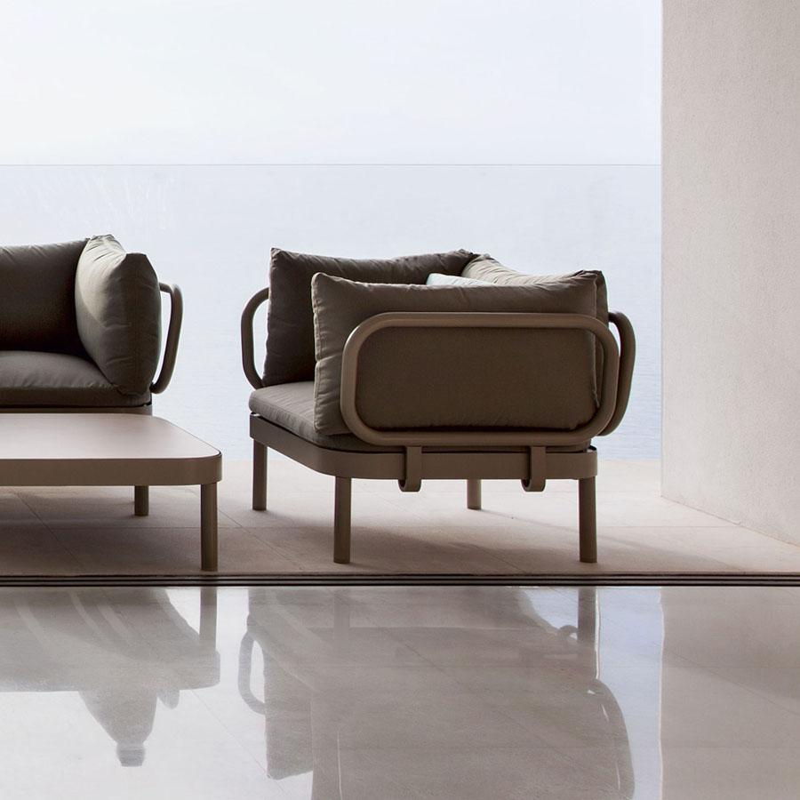 Sillon Tropez Modern Outdoor Lounge Chair By Gandia Blasco