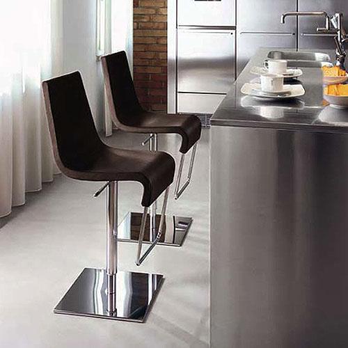 Amazing Bonaldo Skipping Modern Adjustable Bar Stool ...