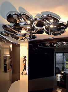 Artemide Skydro Modern Ceiling Lamp By Ross Lovegrove