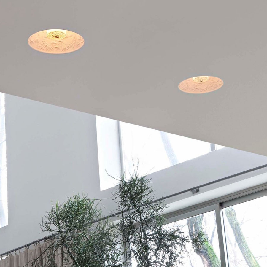 Skygarden unique recessed ceiling light by marcel wanders flos skygarden modern recessed ceiling light mozeypictures Images