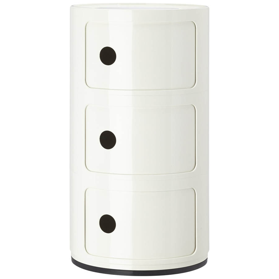 - Componibili 3 Modern Kartell Small Storage Cabinet With Doors
