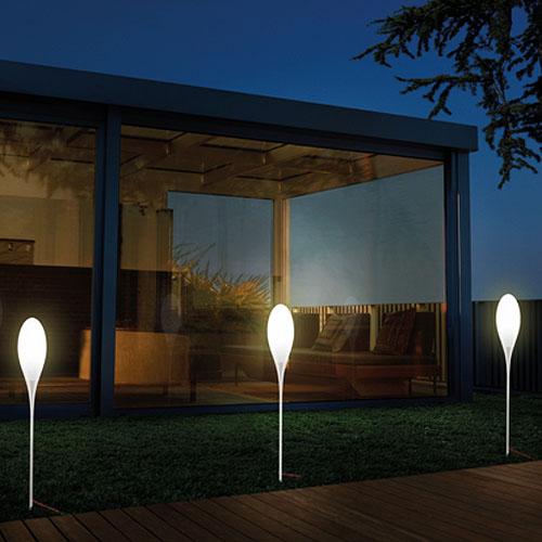 Kundalini spillo modern outdoor lamp by constantin wortmann stardust