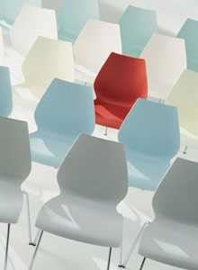 maui modern stacking chair by vico magistretti stardust com