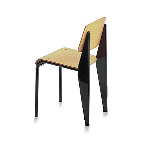 Vitra Miniature 5.25 Inch Standard Chair By Jean Prouve