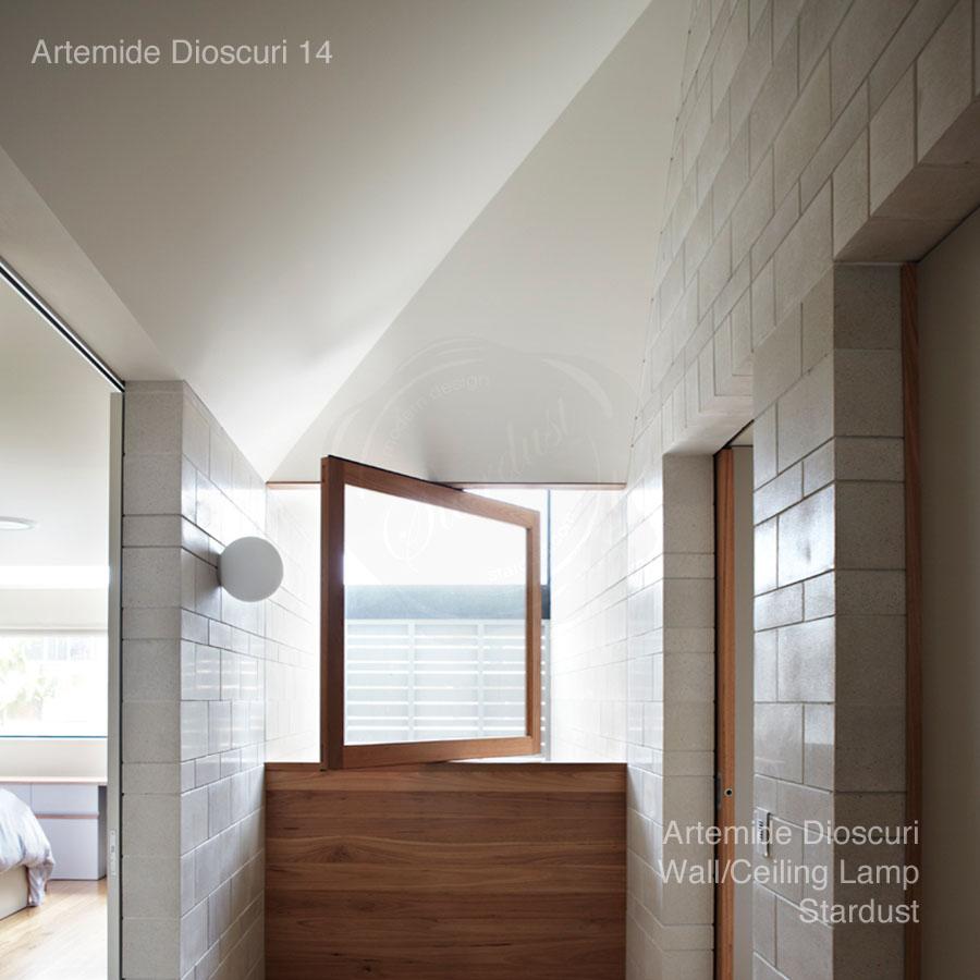 Artemide dioscuri 14 wallceiling lamp by michele de lucchi stardust artemide dioscuri 14 wallceiling lamp aloadofball Gallery