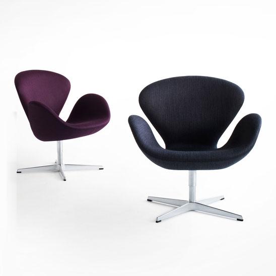 Fritz Hansen Swan Modern Lounge Chair by Arne Jacobsen | Stardust ...