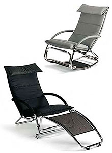 Bonaldo Swing Modern Rocking Chair By Jochen Hoffmann ...