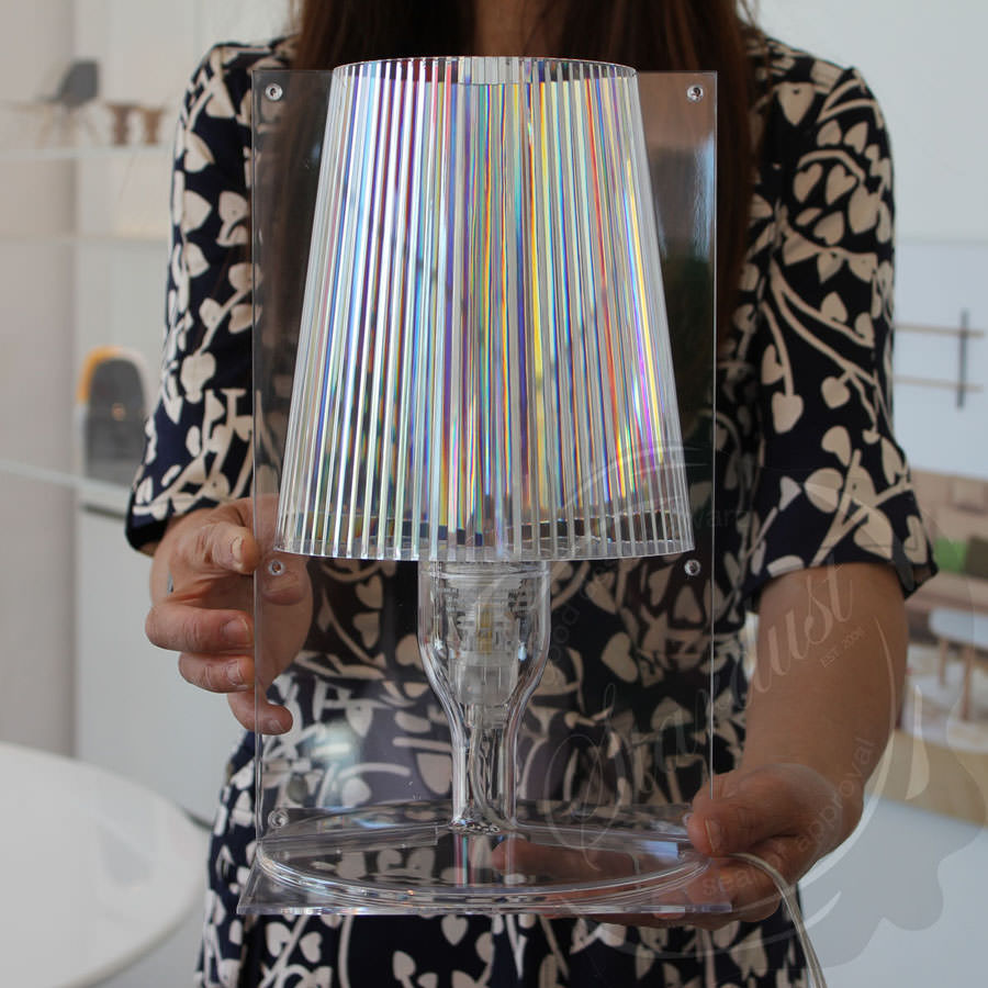 Stardust.com - Take Crystal Table Lamp - Transparent Acrylic Table ...