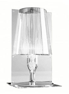 Take crystal table lamp transparent - Table de chevet kartell ...