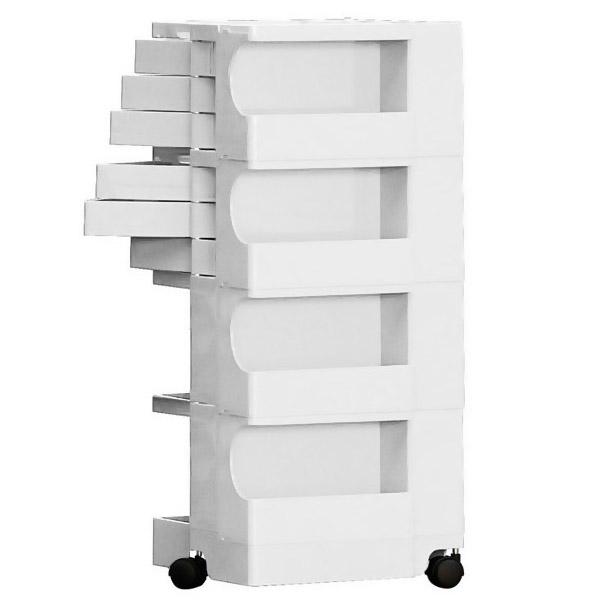 Ez Storage 174 6 Drawer Mobile Organizer Stardust