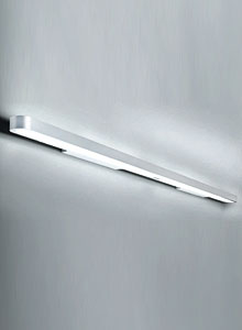 Artemide Talo Fluorescent Wall Strip Light Fixture Stardust
