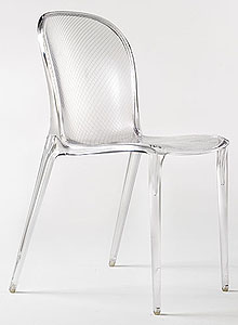 Kartell Thalya Modern Dining Chair By Patrick Jouin ...
