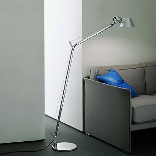 Artemide Tolomeo Classic Floor Light Reading Lamp | Stardust