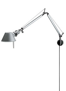 Artemide Tolomeo Classic Wall Lamp With Arms Stardust