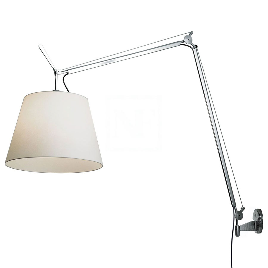 tolomeo mega wall lamp by artemide lighting stardust. Black Bedroom Furniture Sets. Home Design Ideas