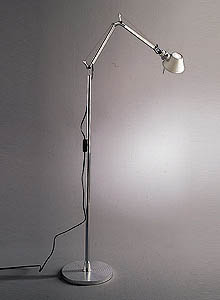 artemide tolomeo micro floor light reading lamp with arms. Black Bedroom Furniture Sets. Home Design Ideas