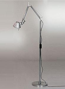 artemide tolomeo mini floor light reading lamp with arms. Black Bedroom Furniture Sets. Home Design Ideas