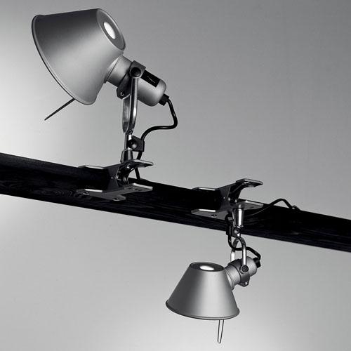 artemide tolomeo clip on lamp spot light stardust. Black Bedroom Furniture Sets. Home Design Ideas