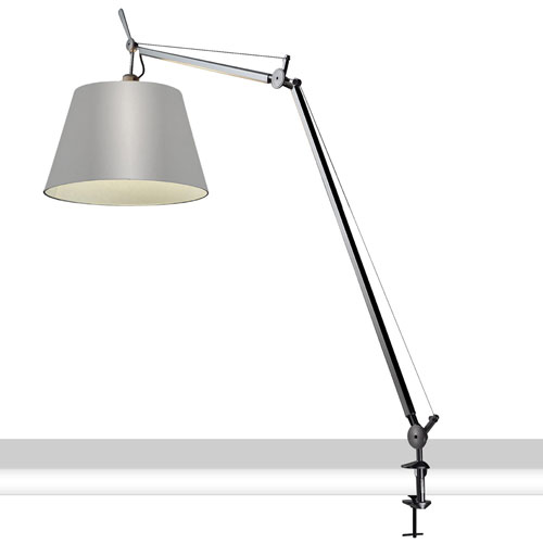 Tolomeo Mega Table Lamp with Clamp Artemide