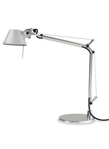 small modern desk. Artemide Tolomeo Micro Small Modern Table Lamp With Base Desk