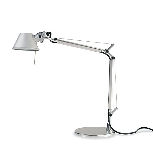 micro size tolomeo micro modern desk lamp w 7 inch base. Black Bedroom Furniture Sets. Home Design Ideas
