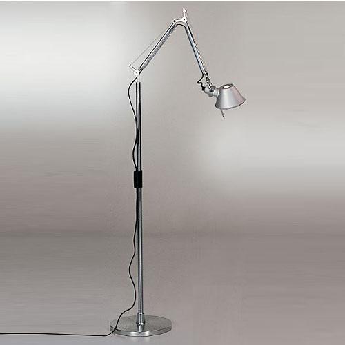 Artemide Tolomeo Mini Floor Light Reading Lamp with Arms | Stardust