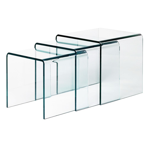 Glass Nesting Coffee Tables Best Home Design 2018