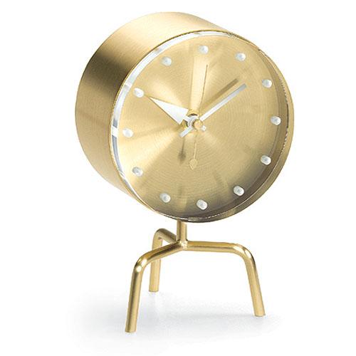 Delightful Vitra Tripod Desk Clock By George Nelson