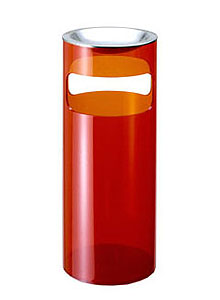 kartell umbrella stand by gino colombini