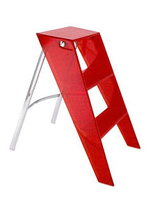 Kartell Upper Step Ladder Folding Step Stool Ladder