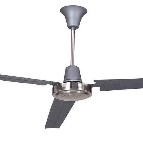 Ellington Utility Titanium And Brushed Chrome Modern Ceiling Fan