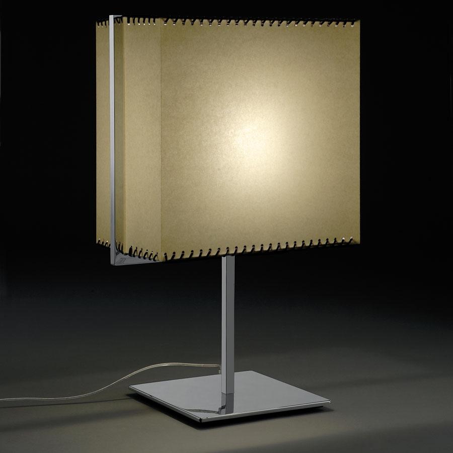 Valenti Luce Diapason Paralume Table Lamp W Parchment Shade Stardust