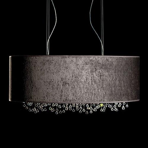 Viso velvet oval modern pendant lamp stardust viso velvet oval modern pendant lamp aloadofball Images
